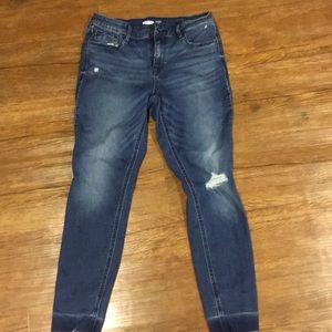 Old navy super skinny rockstar jeans.